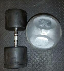 50 kg Dumbbells