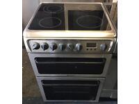 Electric ceramic 60 cm cooker Hotpoint
