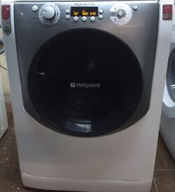 54 Hotpoint AQ113 11kg 1200Spin White Silent A+++Rated WashingMachine 1YEAR GUARANTEE FREE DEL N FIT