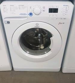 Indesit Innex 8kg 1600 Spin Washing Machine Can Be Delivered Or Collected With Warranty