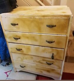 Chest of drawers good DIY project