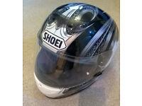 Shoei womans biker helmet