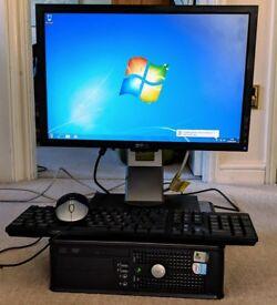 Dell Optiplex GX520 - 4GB RAM/250GB HDD -Win 7 & Office