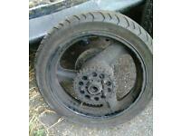 Honda cb1_400 rear wheel