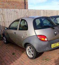 Silver ford ka - low mileage