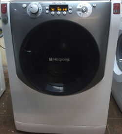 Hotpoint AQ113F 11kg 1400Spin White LCD A+++Rated Washing Machine 1 YEAR GUARANTEE FREE FITTING