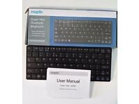 Maplin Super Mini Wireless Bluetooth Keyboard