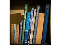 Selection of books on birds, mammals and habitats.