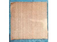 Heavy duty large doormat 97cm x 100cm - non slip doormat with PVC backing