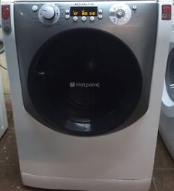 Hotpoint AQ113F 11kg 1400 Spin White LCD Silent Washing Machine 1 YEAR GUARANTEE FREE FITTING