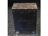 THE TWILIGHT SAGA THE COMPLETE COLLECTION