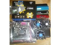 Collection Of Used Computer Parts - CPUs, Motherboards and Memory