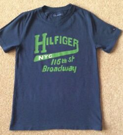 Tommy Hilfiger Navy Boys TShirt 10 Years - Excellent Condition