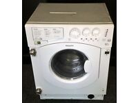 HOTPOINT USED BUILT-IN WASHER DRYER + FREE BH ONLY POSTCODES DELIVERY & 3 MONTHS GUARANTEE