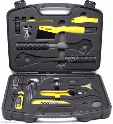 Pedro's Apprentice Tool Kit Professional Bike Mechanic 22pc Travel Portable Case