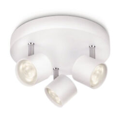 Philips MyLiving Star 3 Spotlight Spiral Ceiling Light (Integrated 3 x 3 W LED)