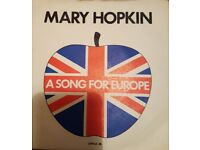 Vintage Single - A Song for Europe - Mary Hopkin 1970