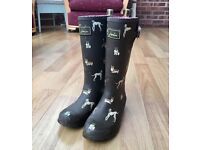Nearly New Joules Wellies