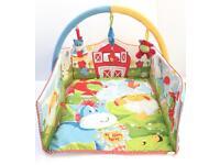 Blossom Farm playmat with arch/ baby gym