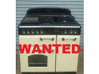 WANTED RANGEMASTER, SMEG, BAUMATIC OR ANY OTHER GOOD MAKE RANGE COOKER