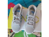Boys Adidas hightops size 13 new with tags