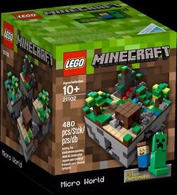 LEGO MINECRAFT MICRO WORLD THE FOREST - BOXED AND COMPLETE - AS NEW