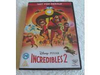 [Sealed] Disney Incredibles 2 DVD