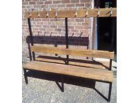 Black Coat Rail& Bench £75 each!