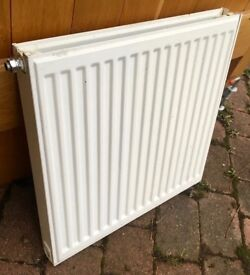DOUBLE CONVECTOR RADIATOR - 60cm x 60cm - CENTRAL HEATING