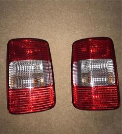 vw caddy tail lights with bulbs etc
