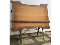 Halbro Circa 1940/50'S A0 Size Industrial Architects A Frame Drawing Board (Great Prop/Menu Display)