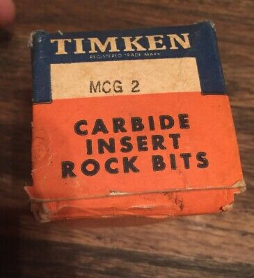 Timken Mcg 2 Carbide Insert Rock Bits