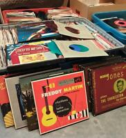 vintage 45s from 50s to 80s