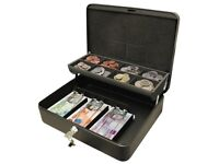 9 x Cathedral Products CBDLBK 12-Inch The Ultimate Cash Box Secure Lock with Coin Tray