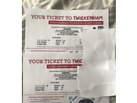 X2 eminem tickets 14/7/18 at twickenham seated