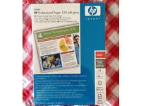 HP Professional Laser Paper 120 soft gloss