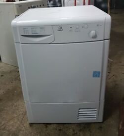 FREE DELIVERY Indesit 7KG condenser tumble dryer WARRANTY