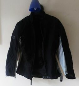 Ladies motorbike textile jacket