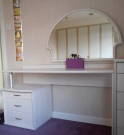 Dressing Table & Matching Mirror