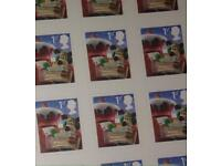 135 1st Class Royal Mail Stamps