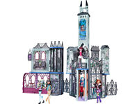 Monster High Deadluxe Deluxe High School Castle Mansion Giant XXL Doll house Play Set
