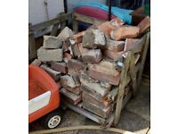 Brick rubble, free to collect.