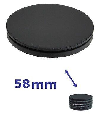 58mm FILTER STACK CAP SET metal filter case 58