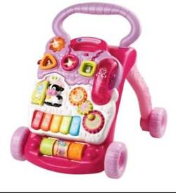Vtech pink walker perfect condition