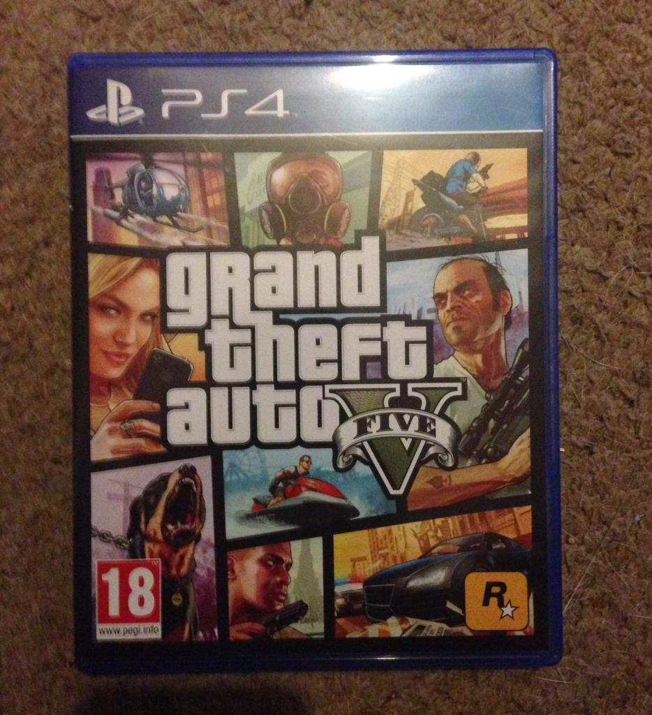Gta 5 ps4 or sale or swap for uncharted 4 in gorseinon for Fenetre sale gta 5