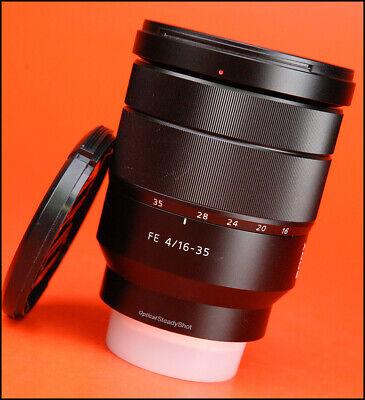 Sony FE Vario Tessar 16-35mm F4 ZA OSS Carl Zeiss T*  Wide Angled  E Mount Lens