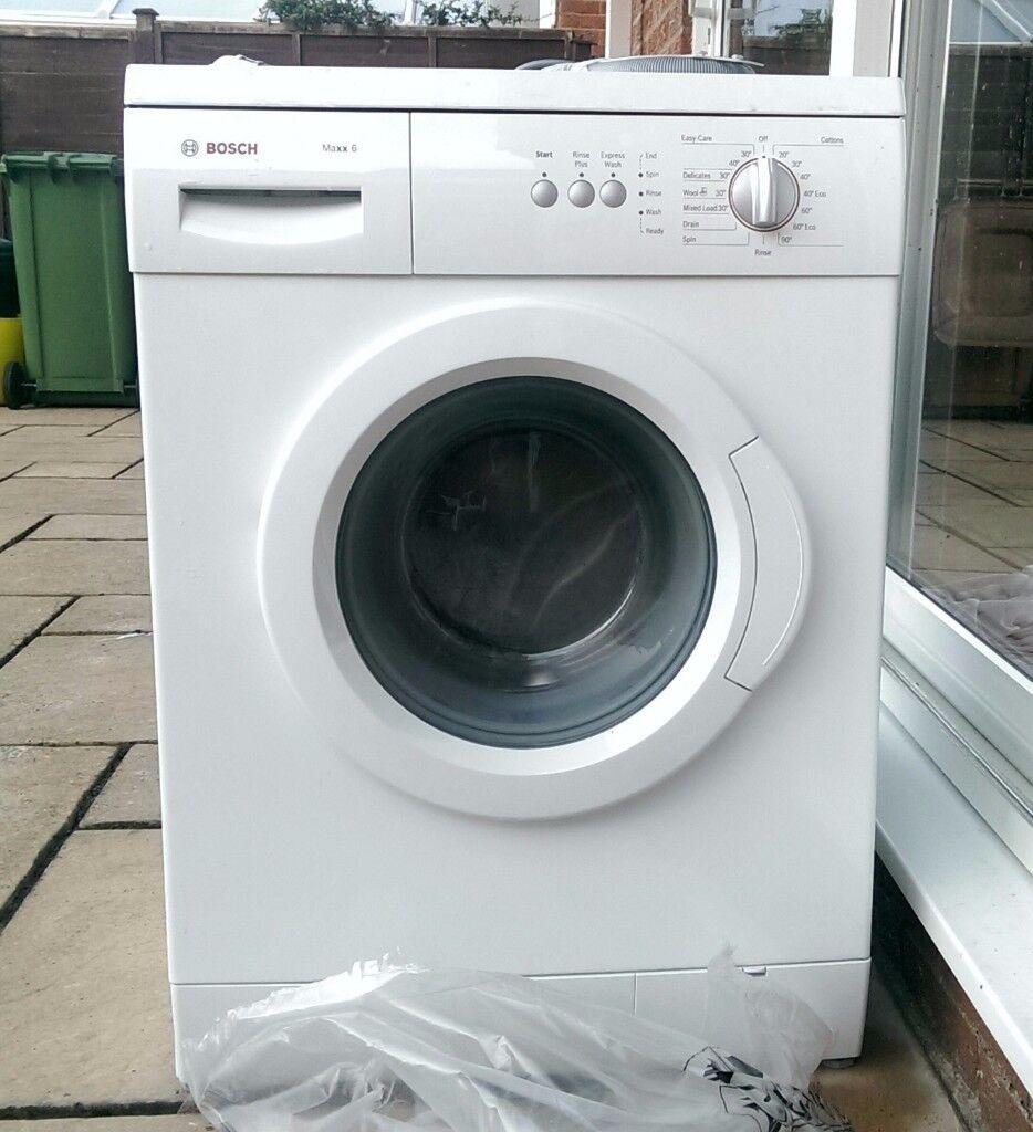 bosch maxx 6 washing machine 6kg 1200 spin working. Black Bedroom Furniture Sets. Home Design Ideas