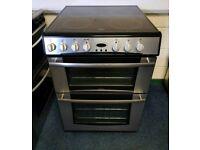 Stainless Steel Belling 60cm Ceramic Cooker - 12 Months Warranty - £190