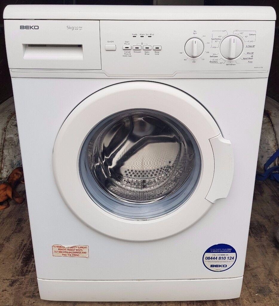 Beko 5kg slim washing machine - FREE DELIVERY