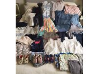 Baby Girl (6-12months) exquisite summer wardrobe - over 35 items including Petit Bateau & Kenzo